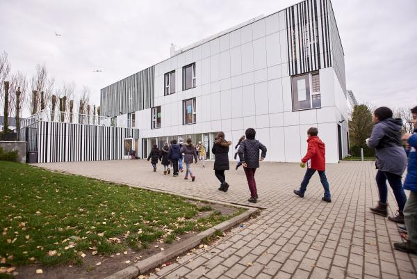 School les Magnolias - Laeken (Projectarchitect: o2-architectes)