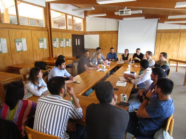 Workshop tijdens het seminarie HERES