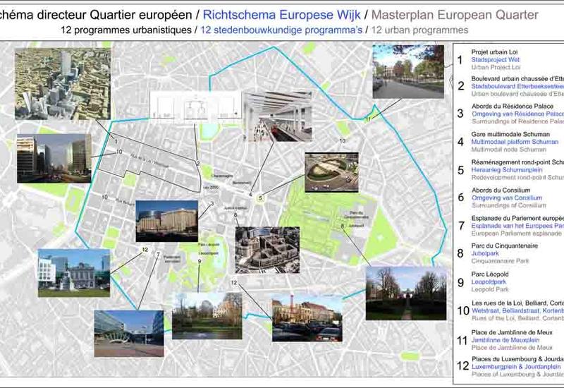 12 programmes urbanistiques architecturaux