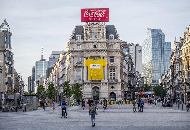 Brussels Grand Départ 2019 - De Brouckèreplein