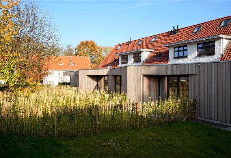 Huisvesting in constructie in Homborch (Ukkel)
