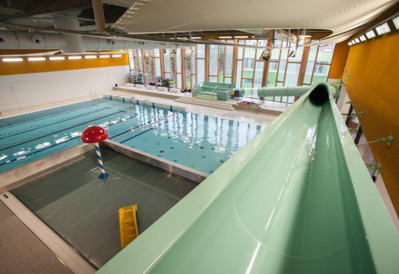 Zwembad van Laken