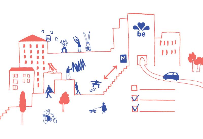 Gids voor publieke ruimte in Brussel