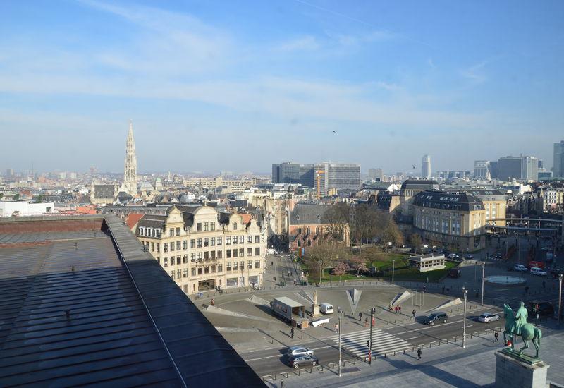 Uitzicht over Brussel (Kunstberg)